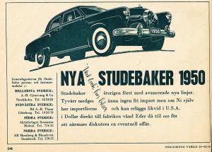 Studebaker-annons