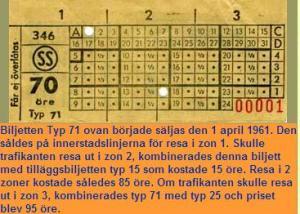 SS-biljett