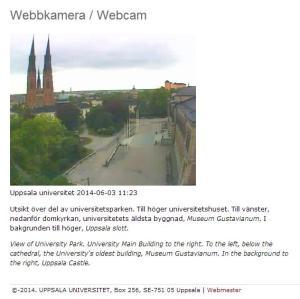 Uppsala_webbkamera