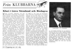 Klubbnytt_Flygning_1938